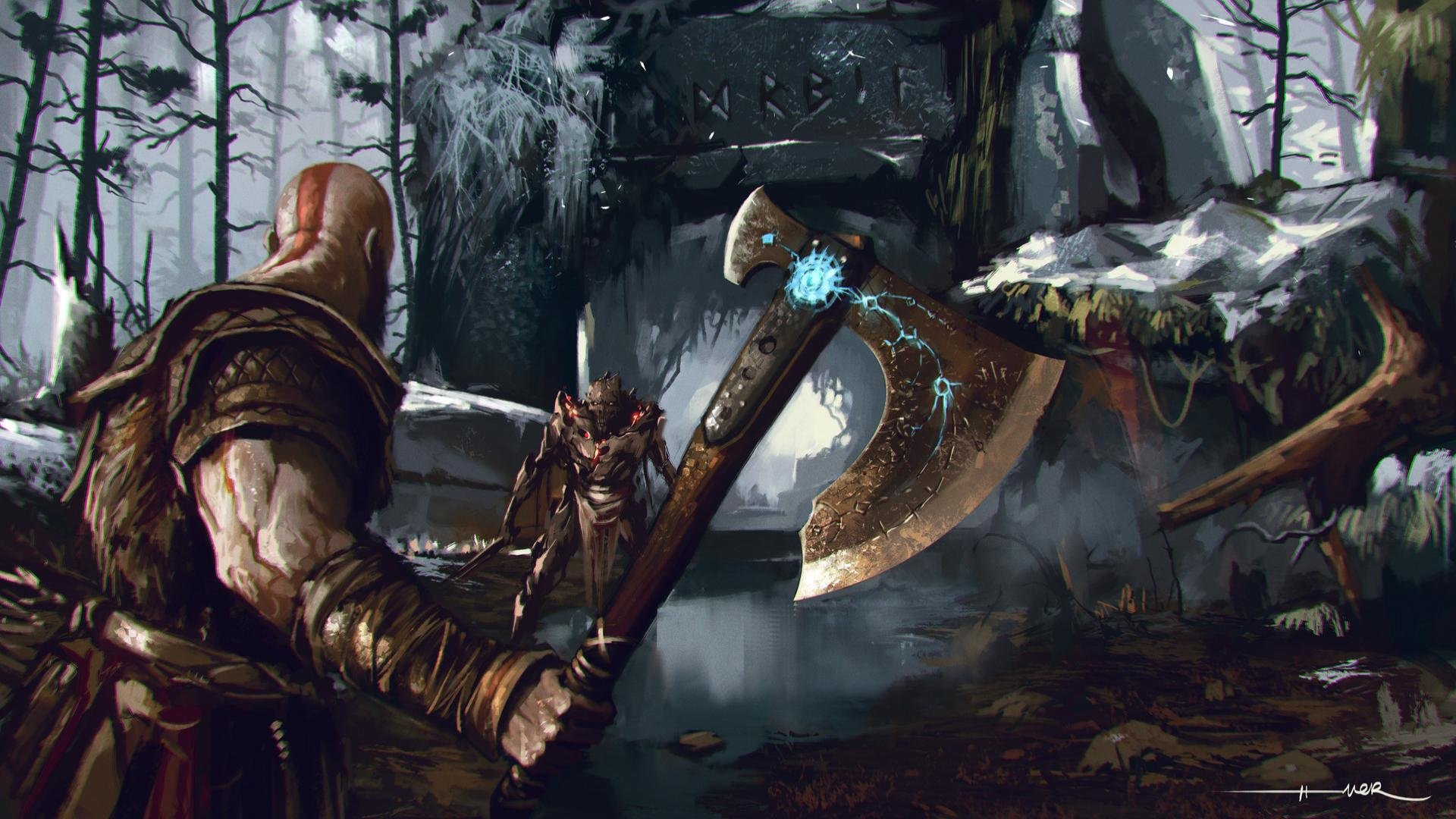 Download God Of War Wallpaper 1080p Hd Backgrounds Download