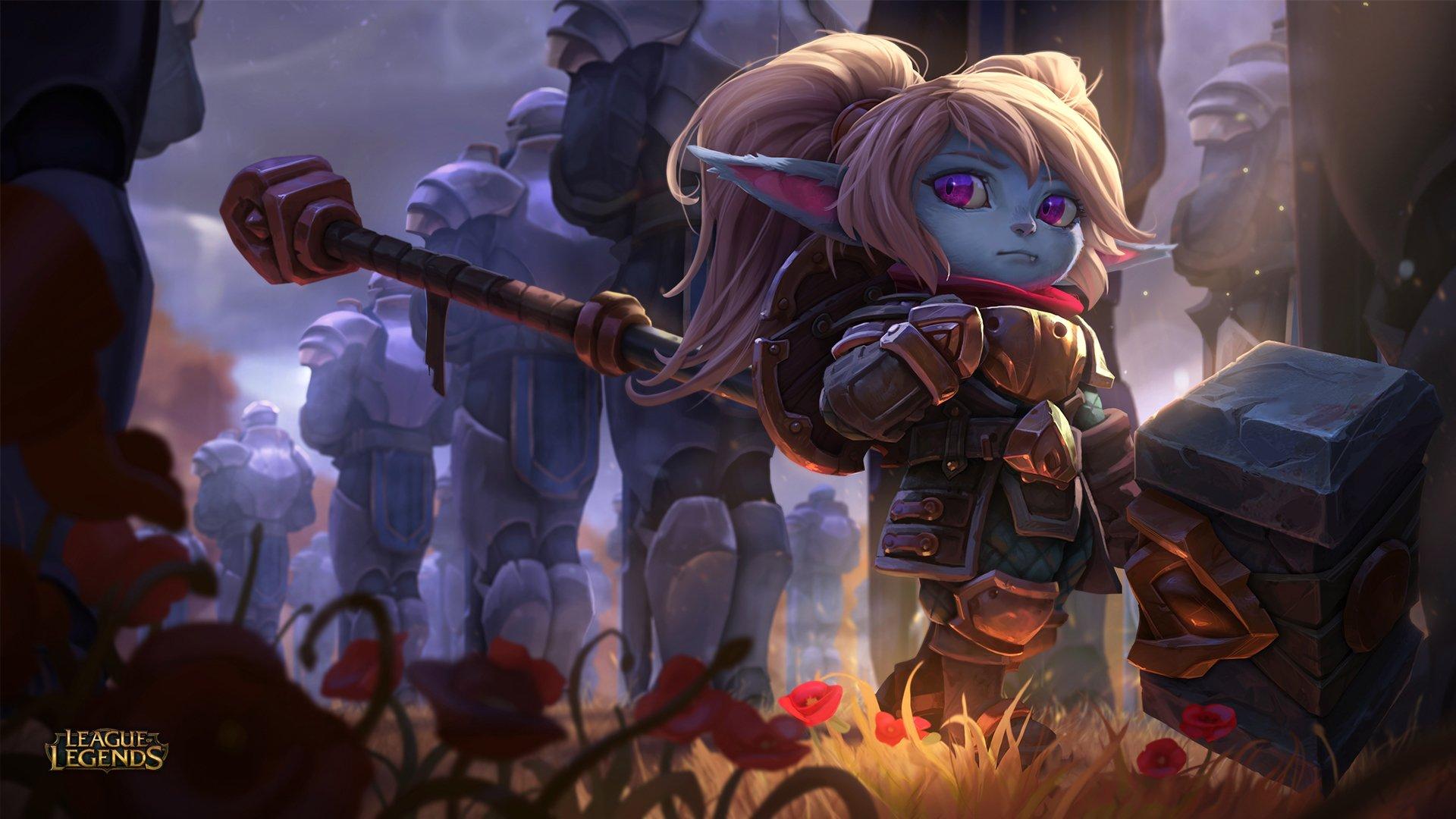 Download Poppy League Of Legends Wallpaper Hd Backgrounds