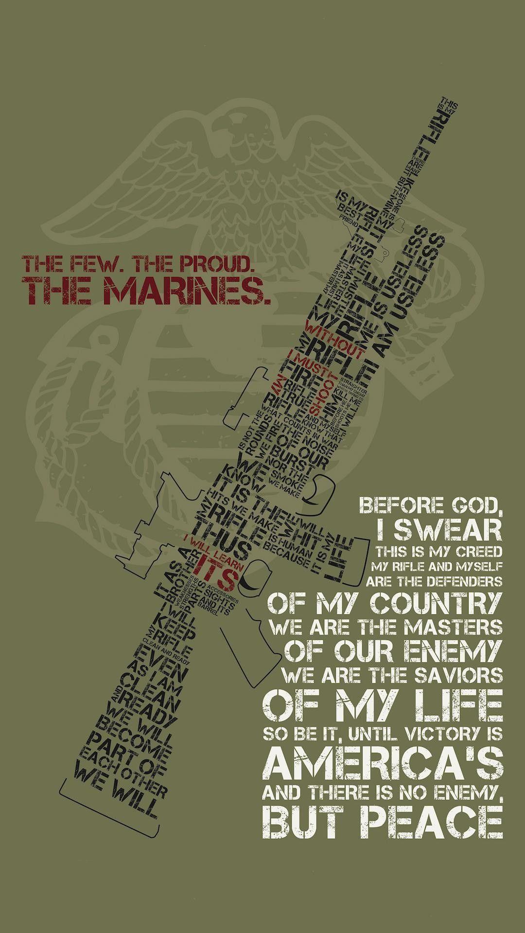 Download Marines Phone Wallpaper Hd Backgrounds Download Itl Cat