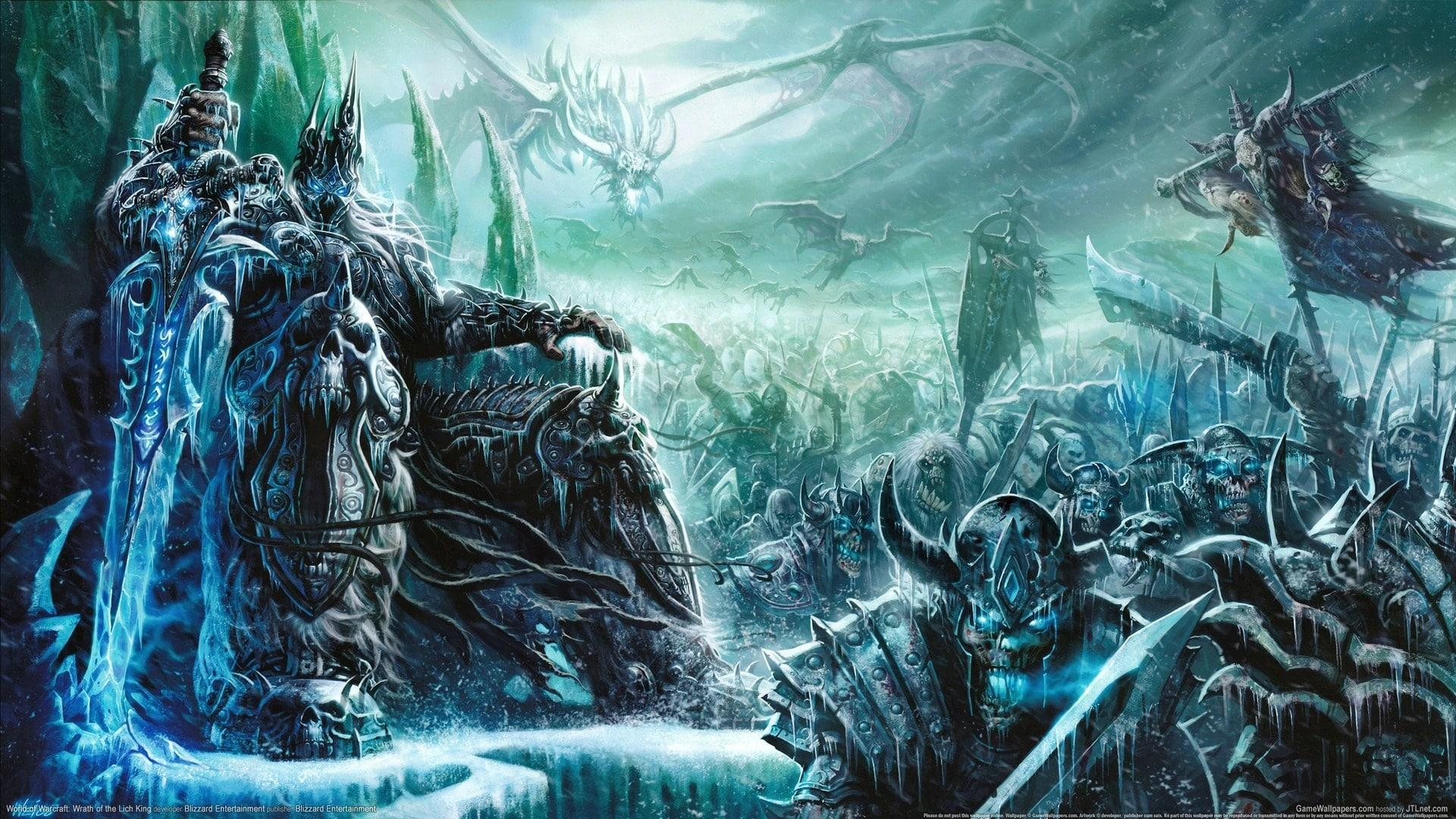 Download Lich King Wallpaper Hd Hd Backgrounds Download