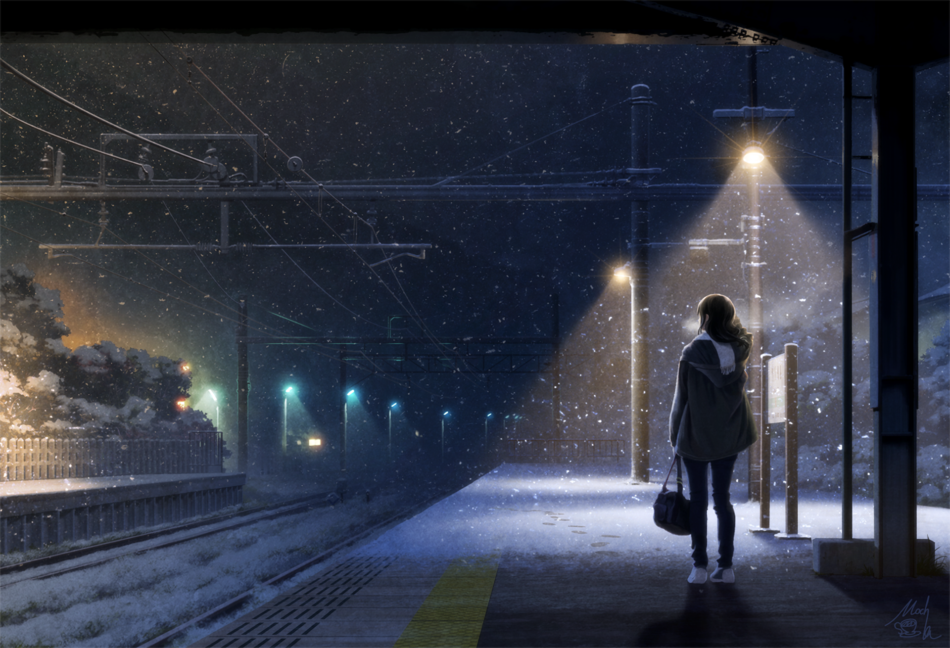 Download Train Station Wallpaper Hd Backgrounds Download