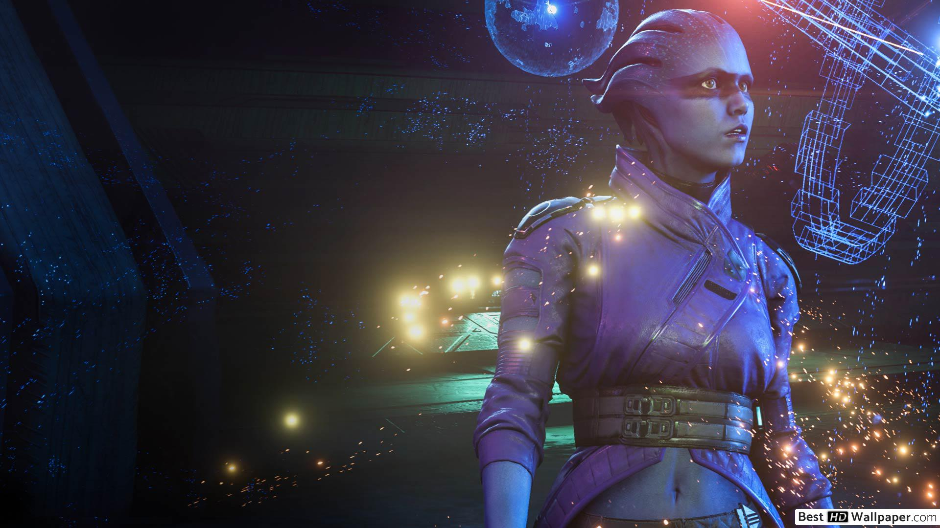Download Mass Effect Andromeda Mobile Wallpaper Hd