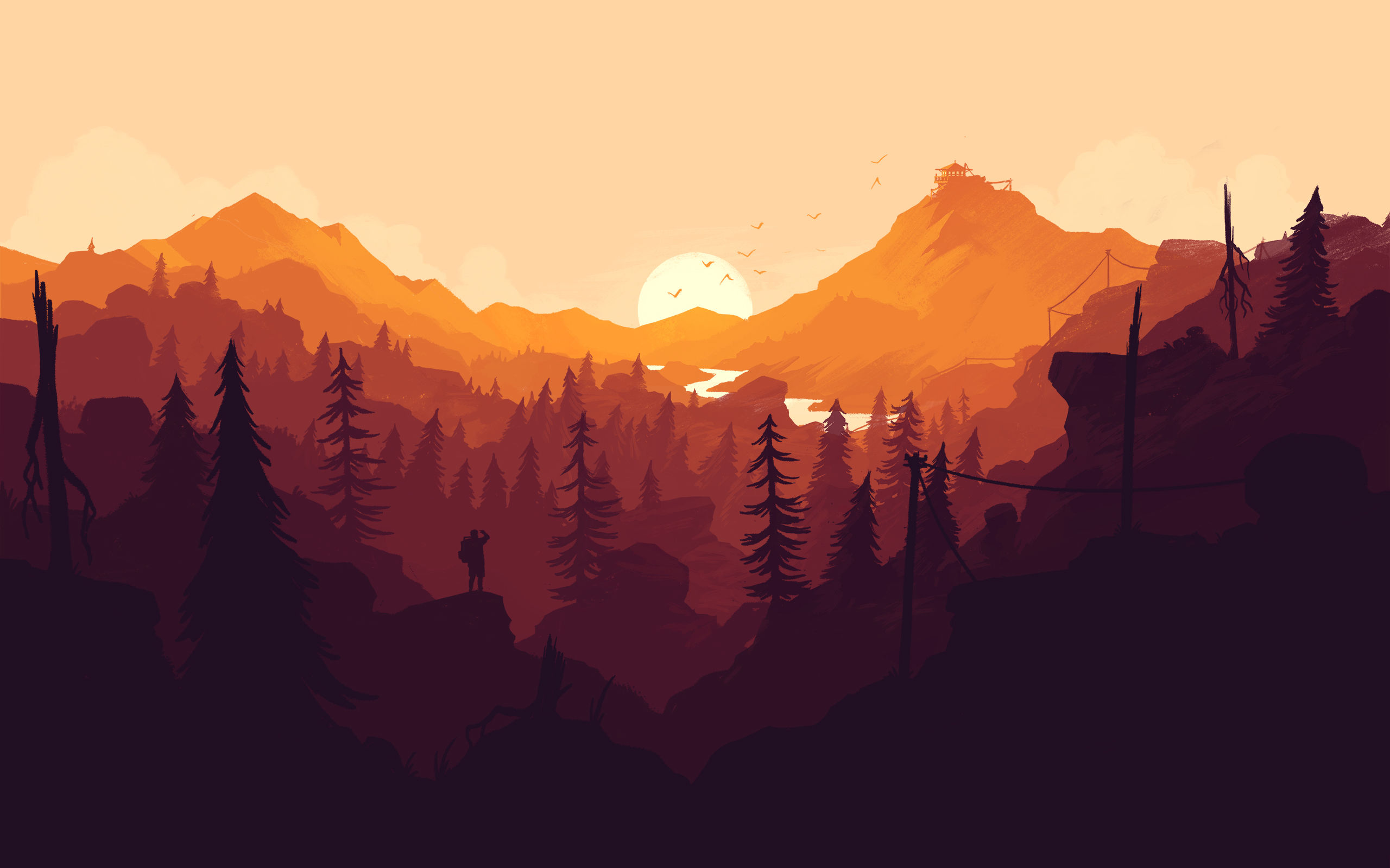Download Minimalist Forest Wallpaper Hd Backgrounds