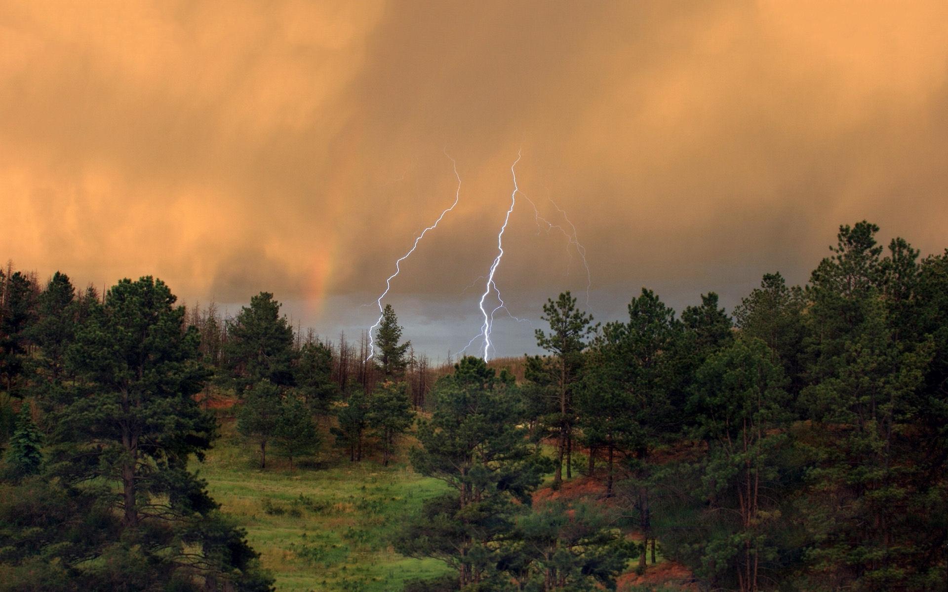 Download - Cloud Rain Lightning , HD Wallpaper & Backgrounds