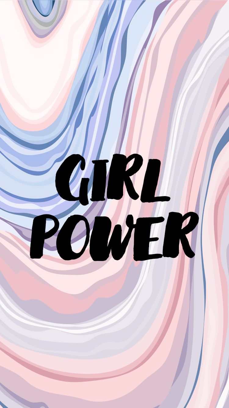 Wallpapers For Girls - Girl Power Wallpaper Iphone , HD Wallpaper & Backgrounds