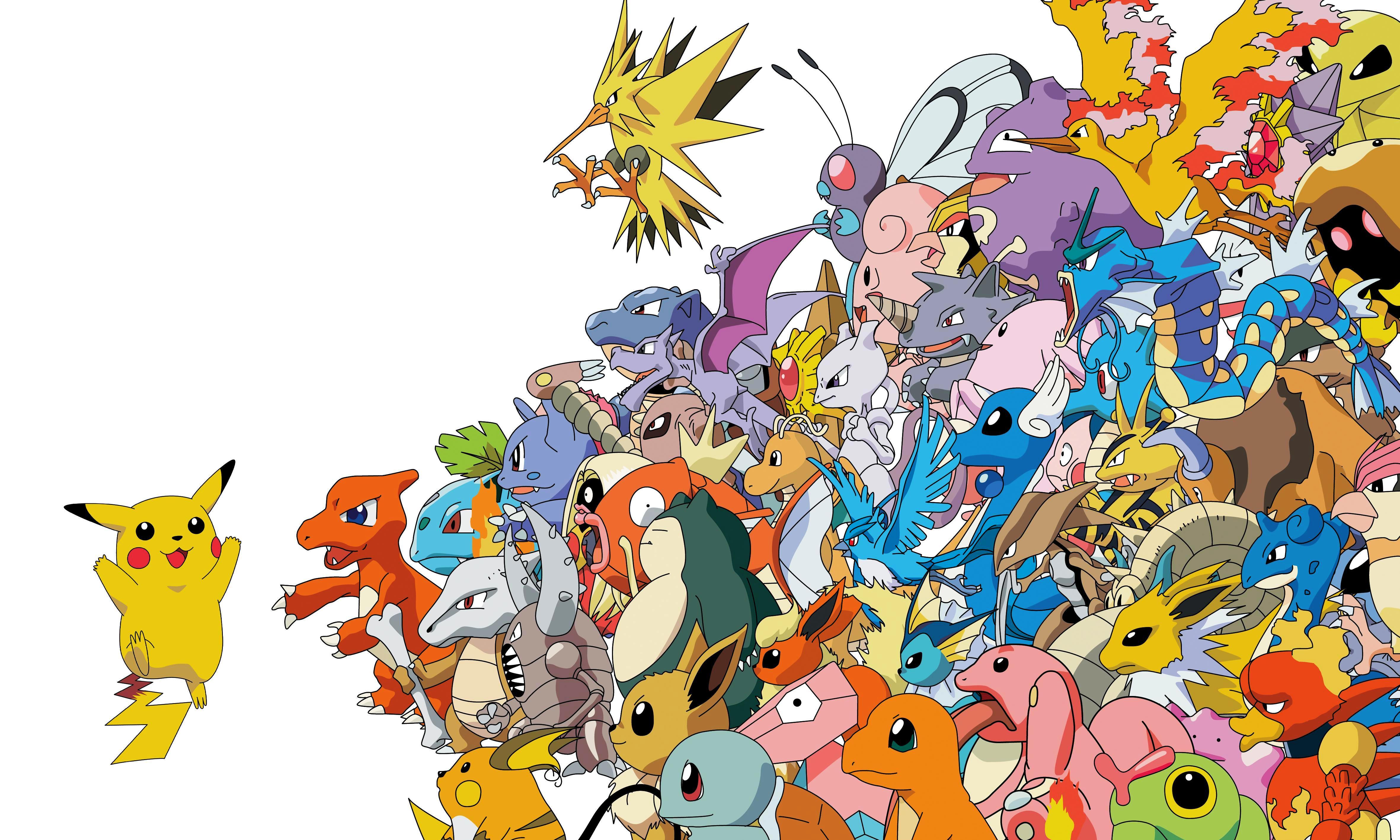 Added By Geocen - Pokemon All , HD Wallpaper & Backgrounds