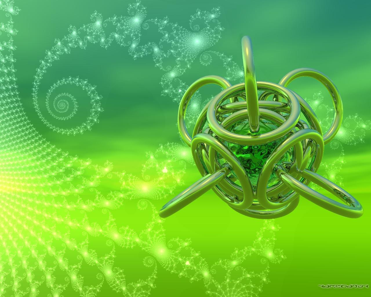 Download Wallpaper Keren - Abstract St Patrick's Day Background , HD Wallpaper & Backgrounds