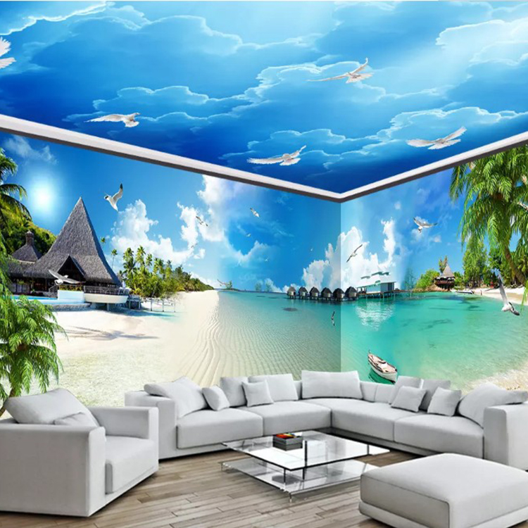 3d Hd 1080p Seascape Scenery The Whole House Mural Scenery