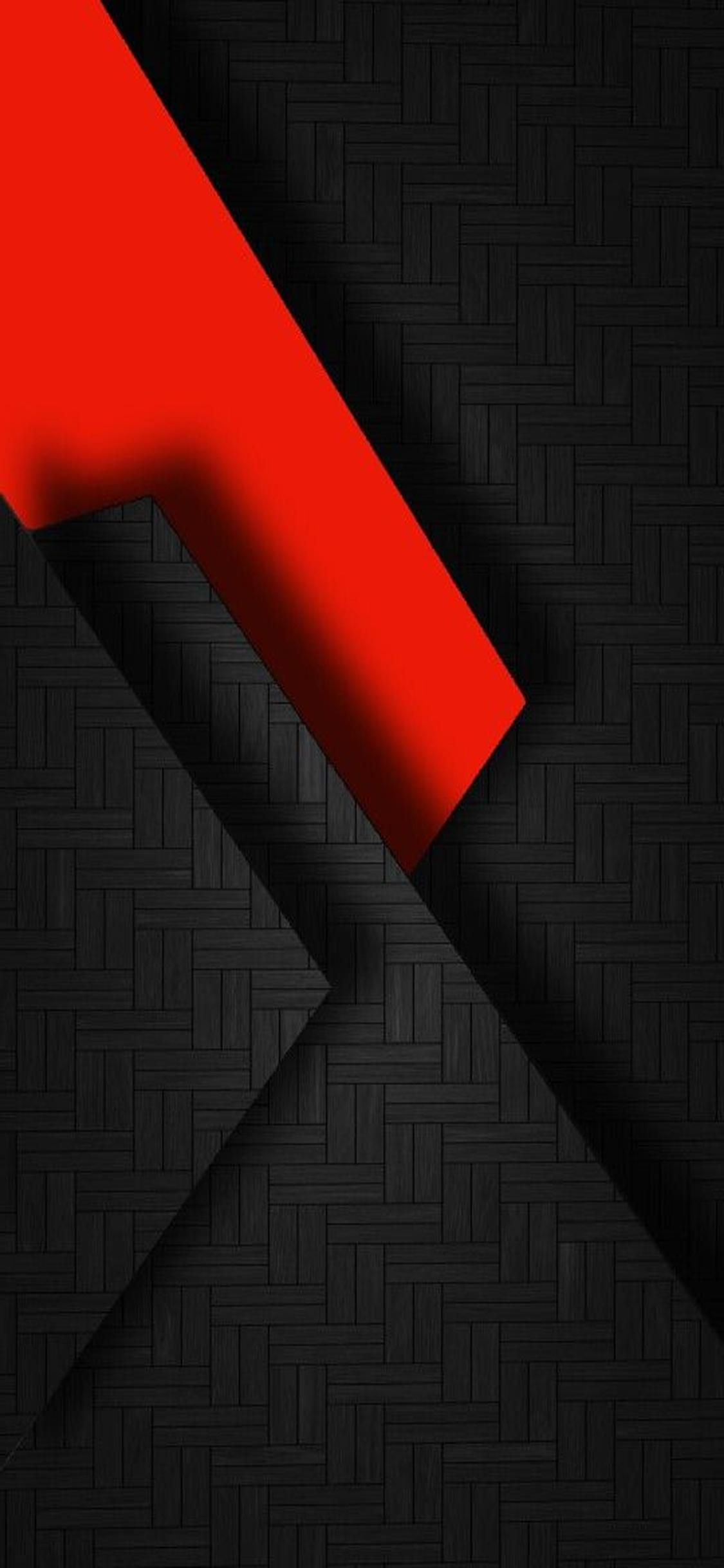 Iphone X Wallpaper Red And Black