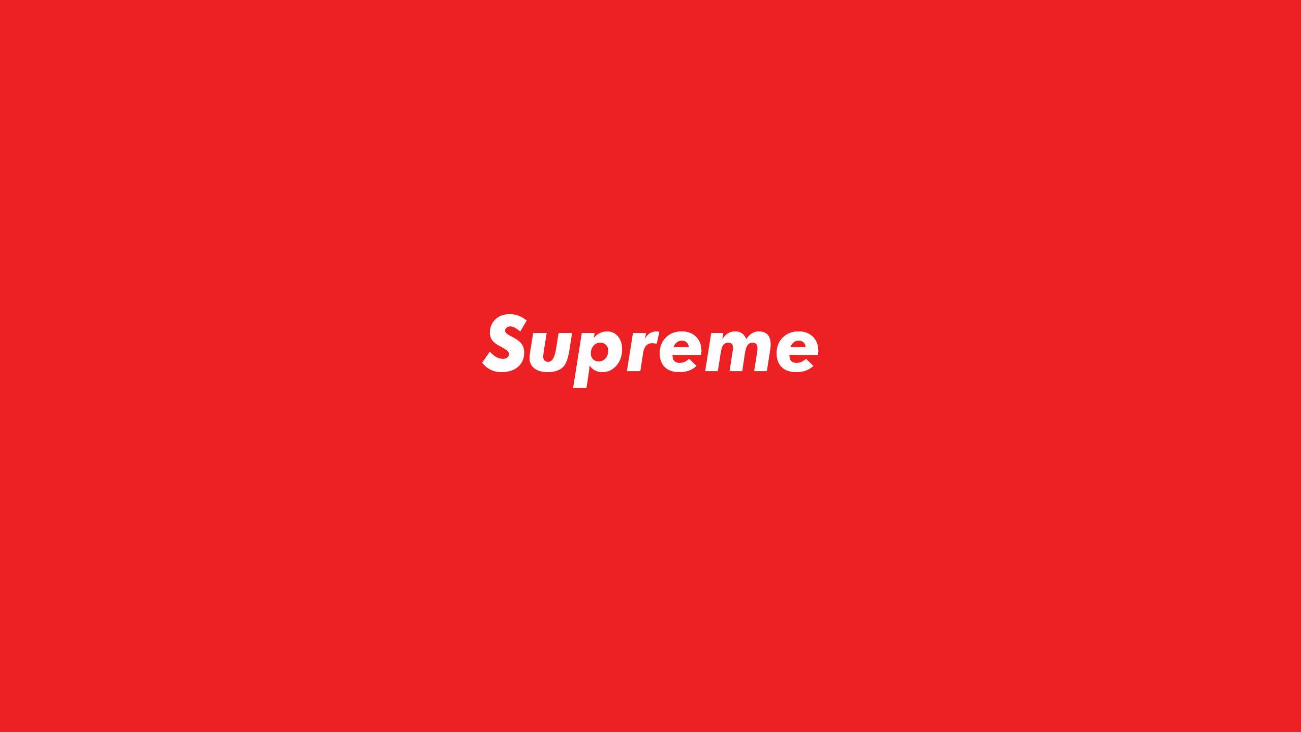 Supreme Wallpaper - » - Supreme , HD Wallpaper & Backgrounds