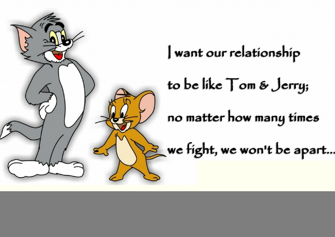 Friendship Day Hd Wallpaper Download Tom And Jerry
