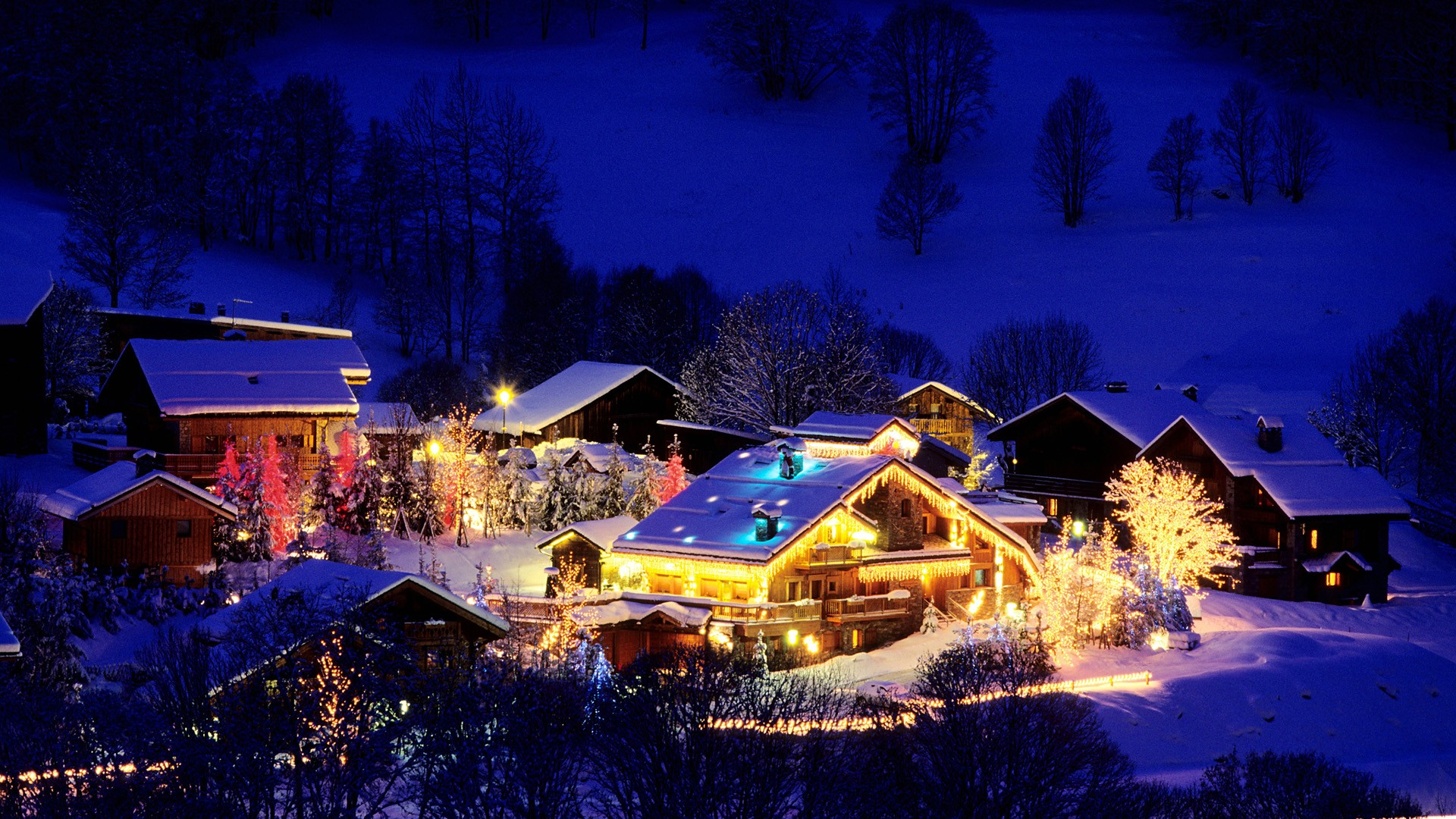 Christmas Wallpapers - Christmas In A Village , HD Wallpaper & Backgrounds