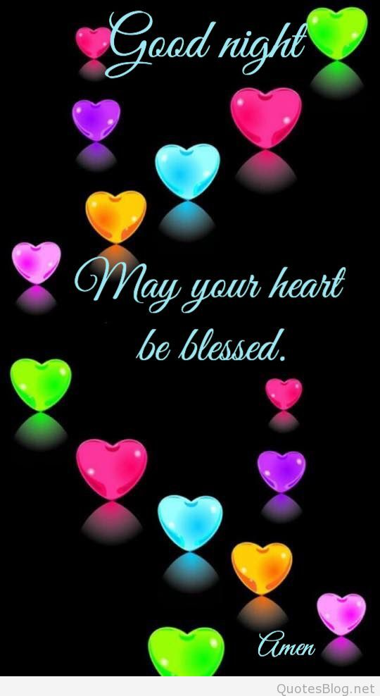 Good Night And May Your Heart Be Blessed - Good Morning Happy Friendship Day , HD Wallpaper & Backgrounds