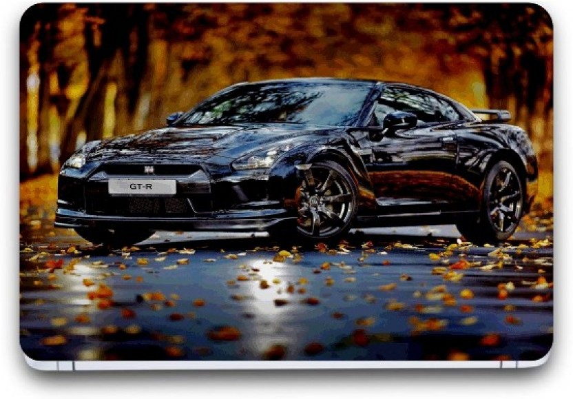 Punix 3d Car Wallpaper Exclusive Laptop Skin Sticker - Edit Background Hd Car , HD Wallpaper & Backgrounds