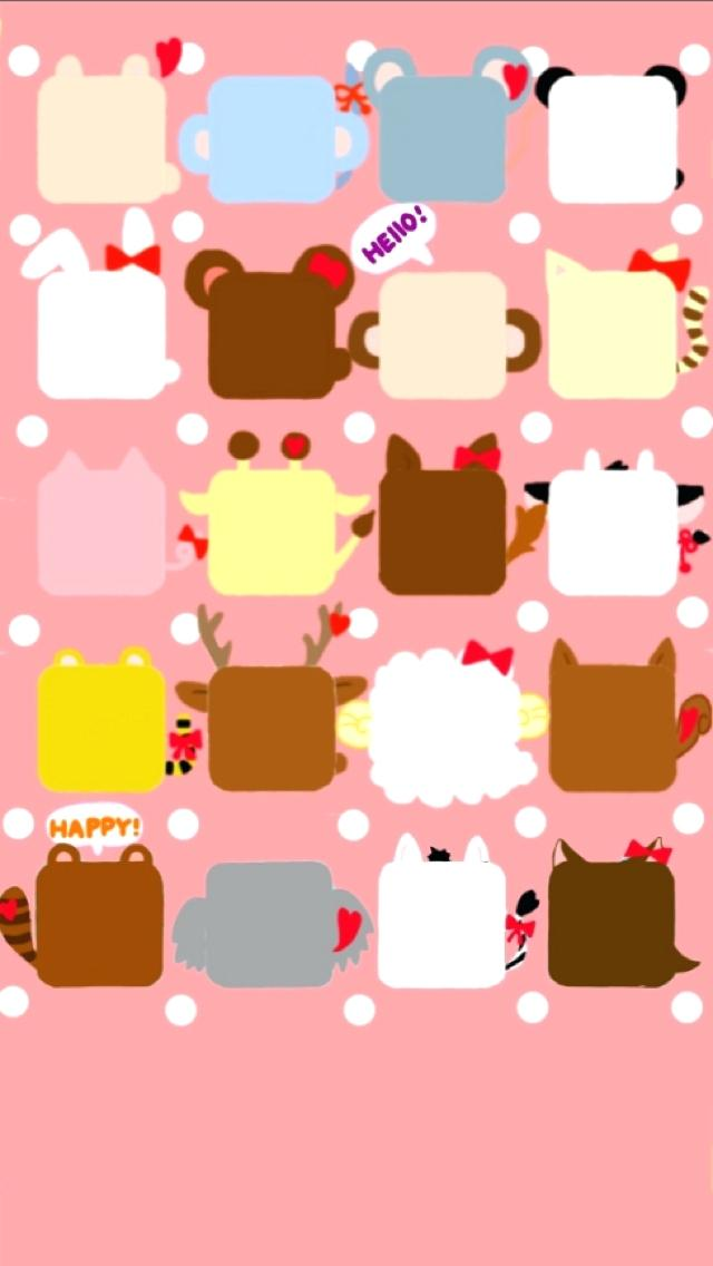 Girly Wallpapers For Iphone Cute Animal Wallpaper Backgrounds - Cute Cute May 2019 Calendar , HD Wallpaper & Backgrounds