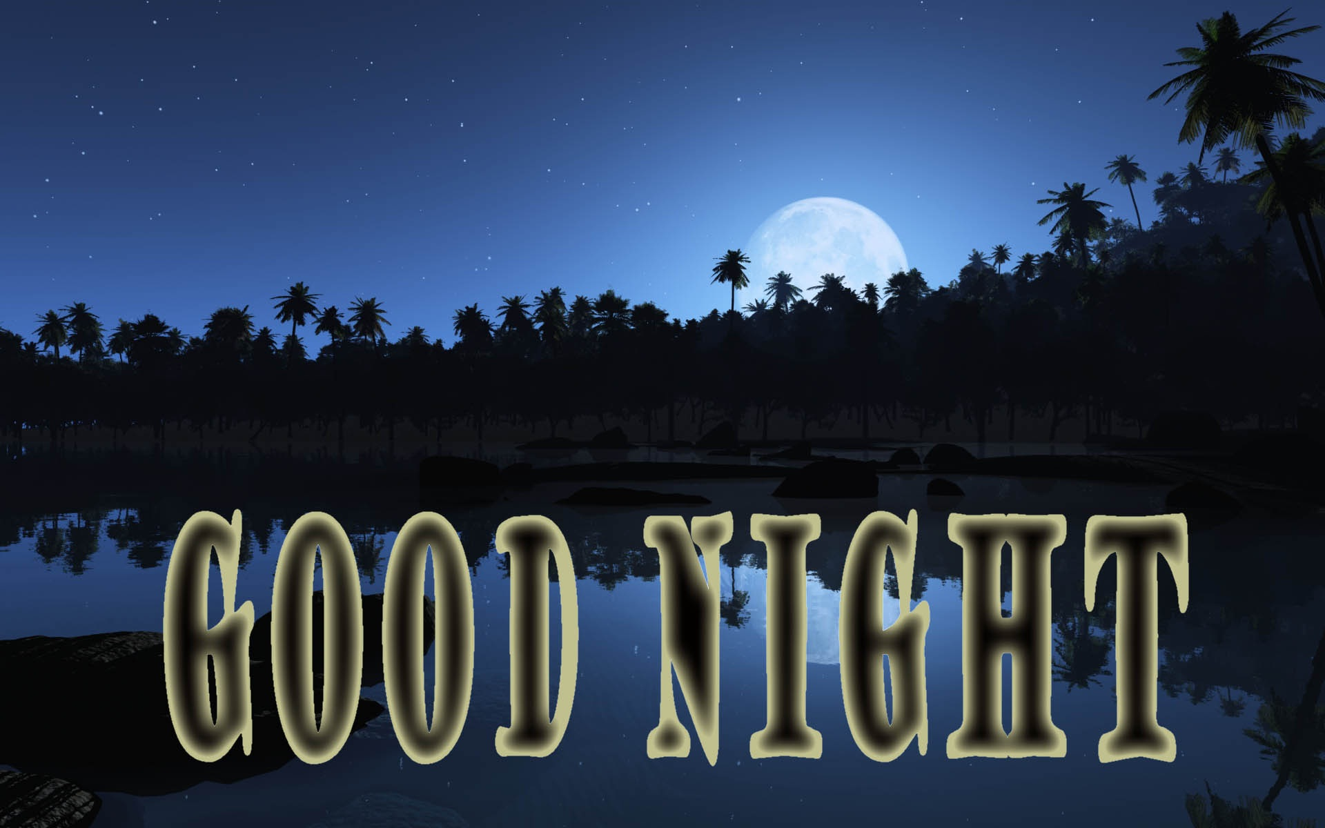 Good Night By Natures , HD Wallpaper & Backgrounds