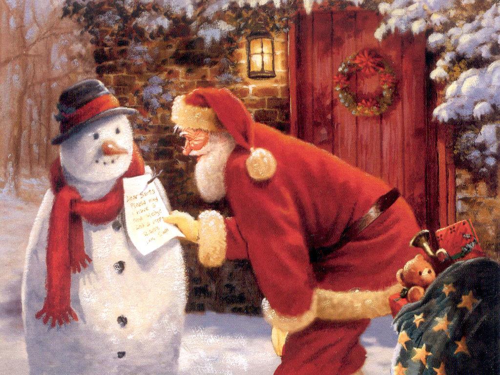 Merry Christmas Wallpaper Hd - Christmas Wallpaper Santa Claus , HD Wallpaper & Backgrounds