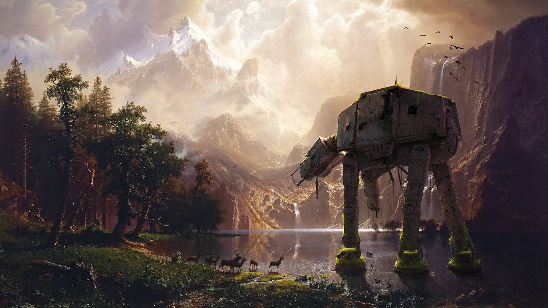 72e6904b Bd6b 4137 B536 1c06f8829924 - Star Wars Wallpaper Art , HD Wallpaper & Backgrounds