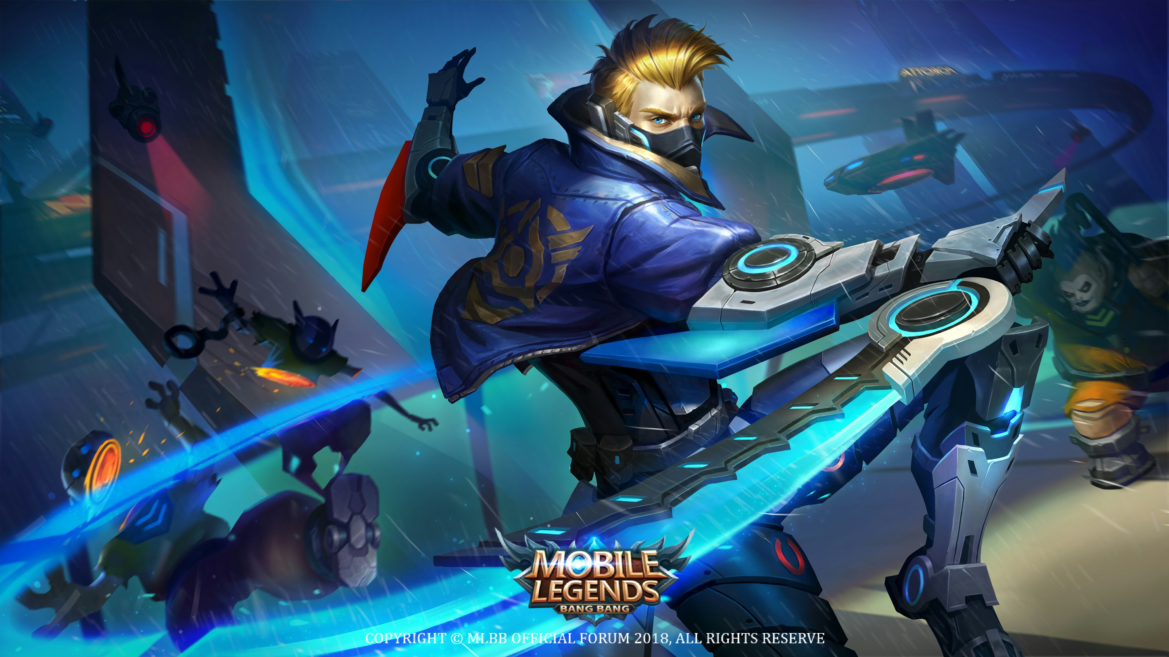 Desktop Wallpapers Hayabusa Mobile Legends Cover