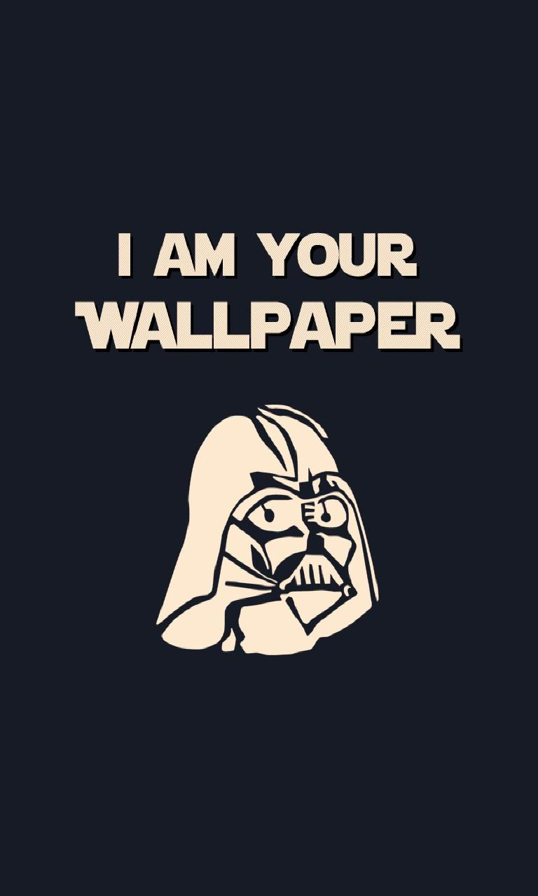 My Phone Wallpapers Collection - Darth Vader I Am Your , HD Wallpaper & Backgrounds