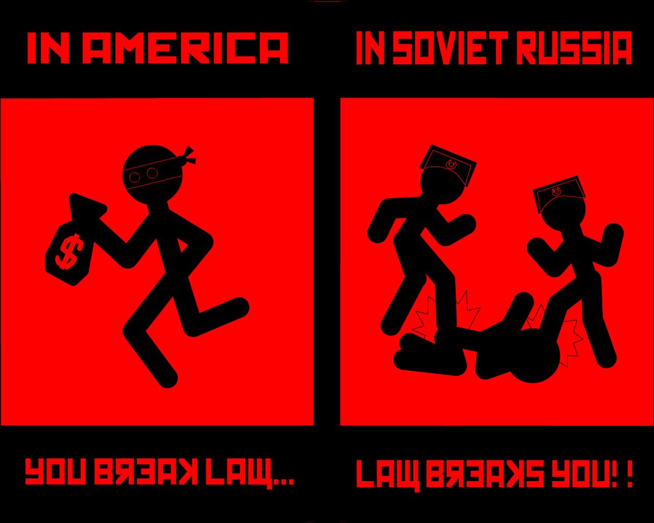 Soviet Russia Law Breaks You , HD Wallpaper & Backgrounds