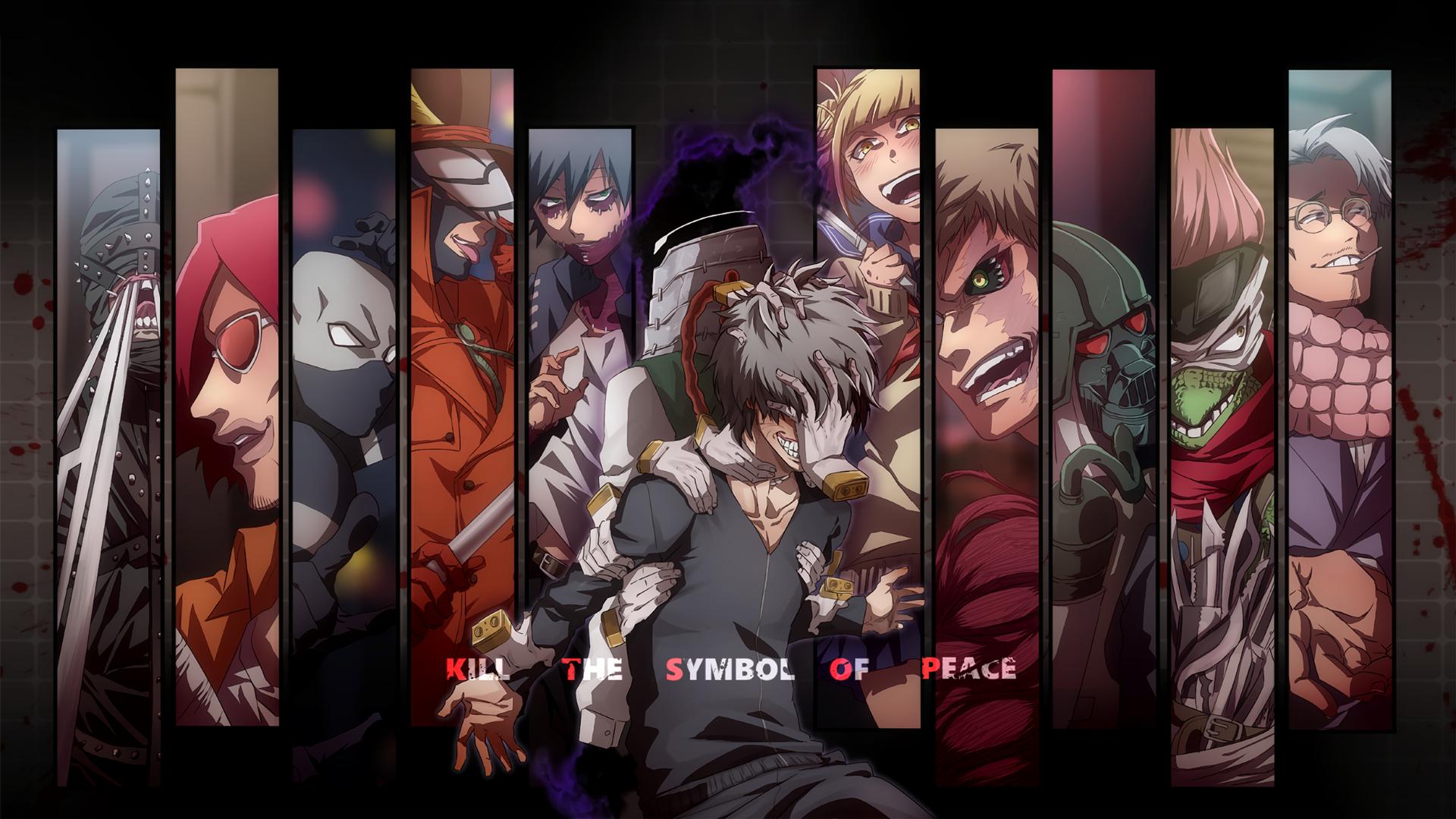 My Hero Academia Scar League Of Villains Boku No Hero