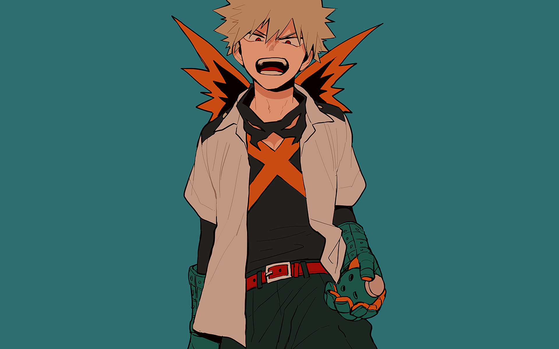 Free Boku No Hero Academia High Quality Wallpaper Id Bakugo