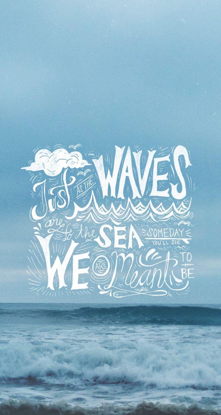 Download Wallpaper Iphone Wallpaper Beach Quote 13615