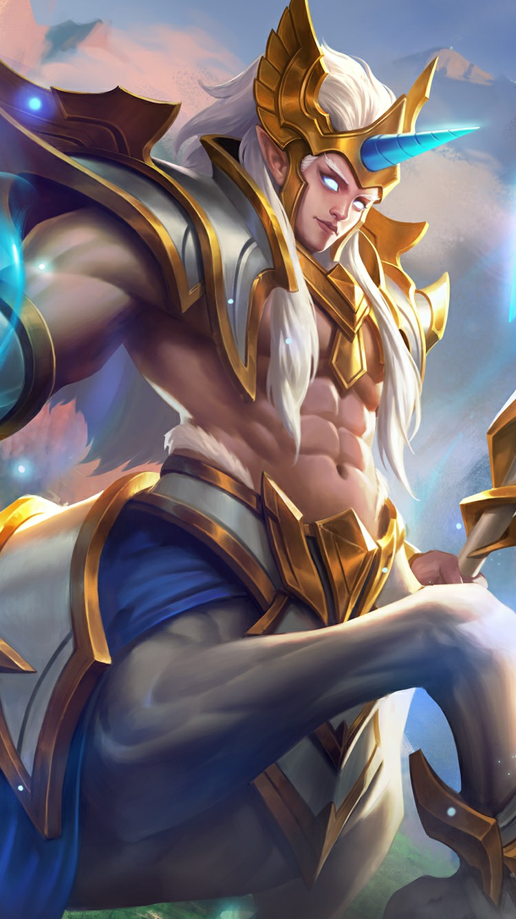 Mobile Wallpapers - Hylos Mobile Legends , HD Wallpaper & Backgrounds