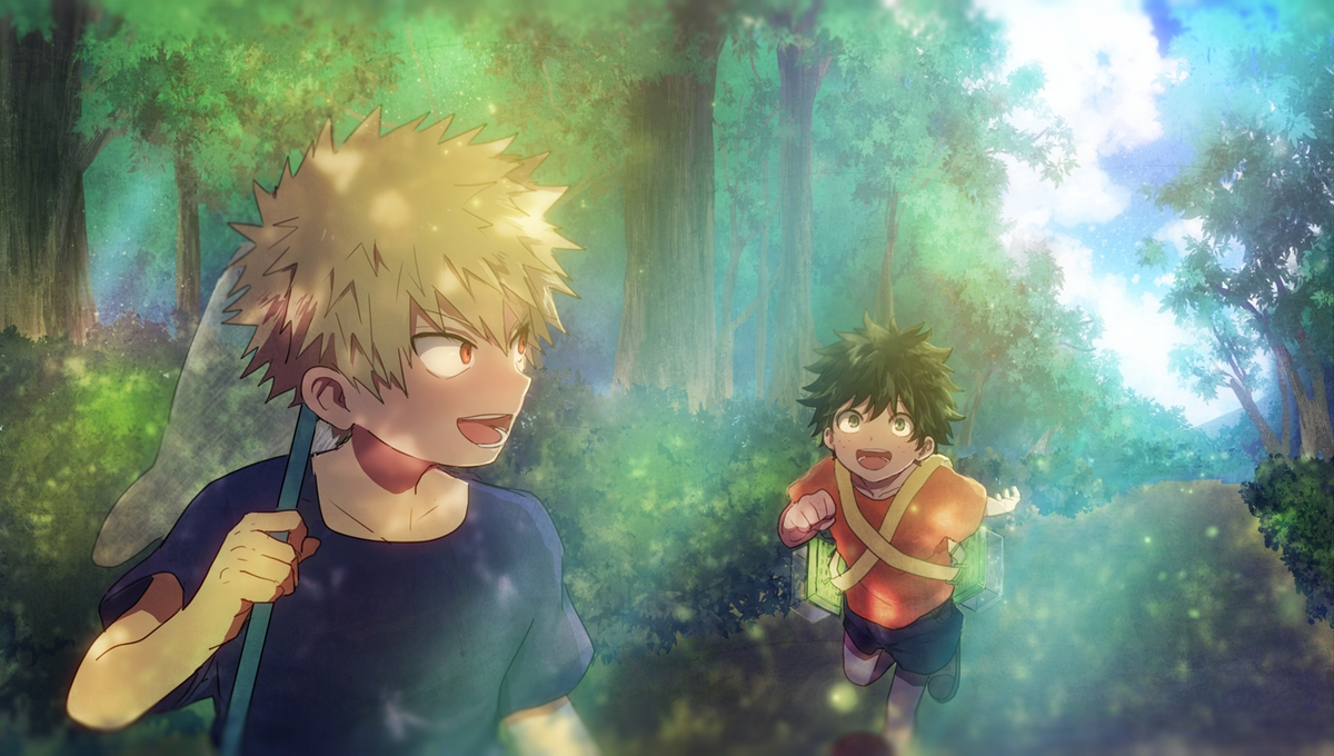My Hero Academia Wallpaper Hd Bakugo And Izuku Friends