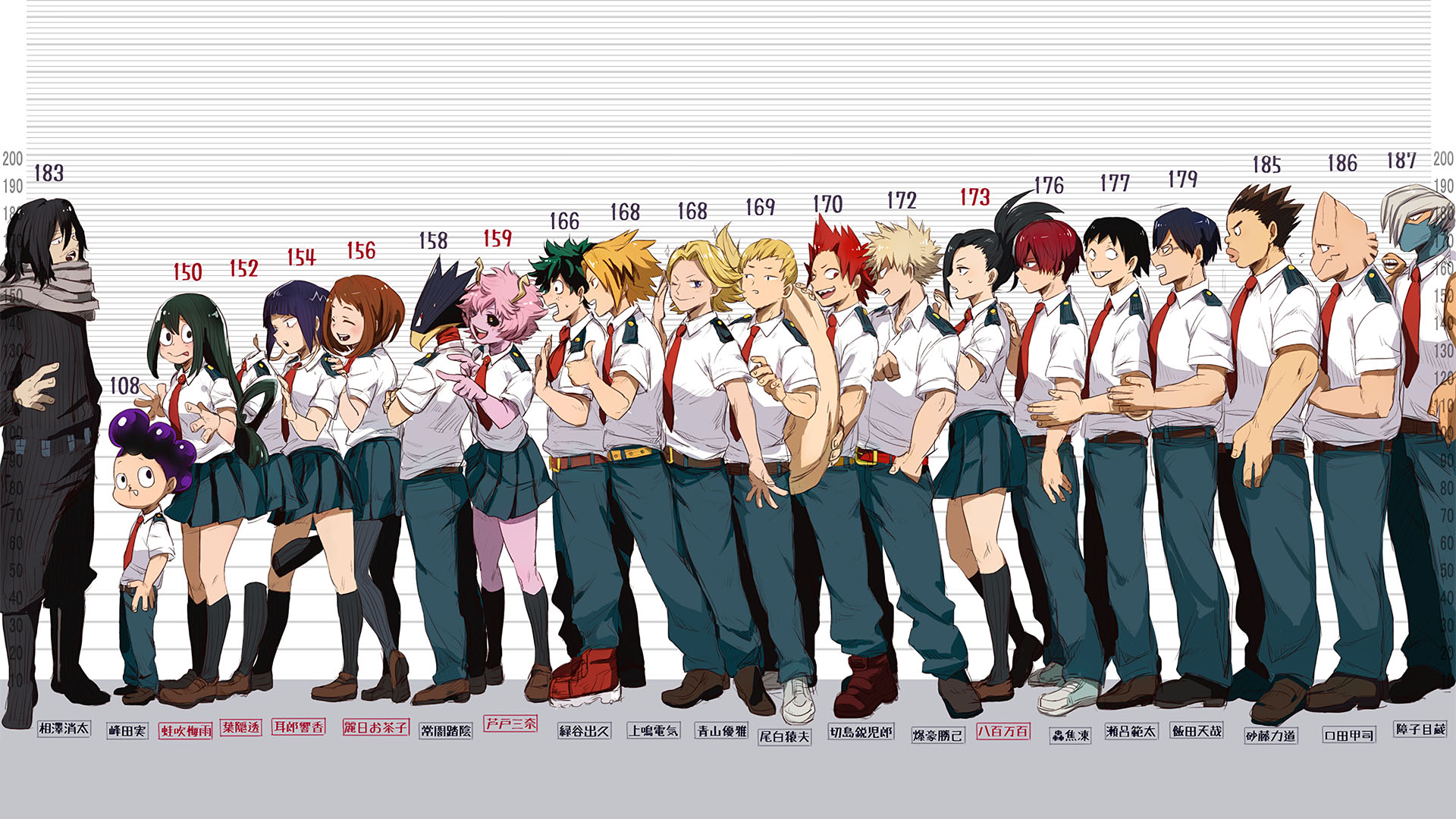Download Wallpaper From Anime My Hero Academia With My Hero