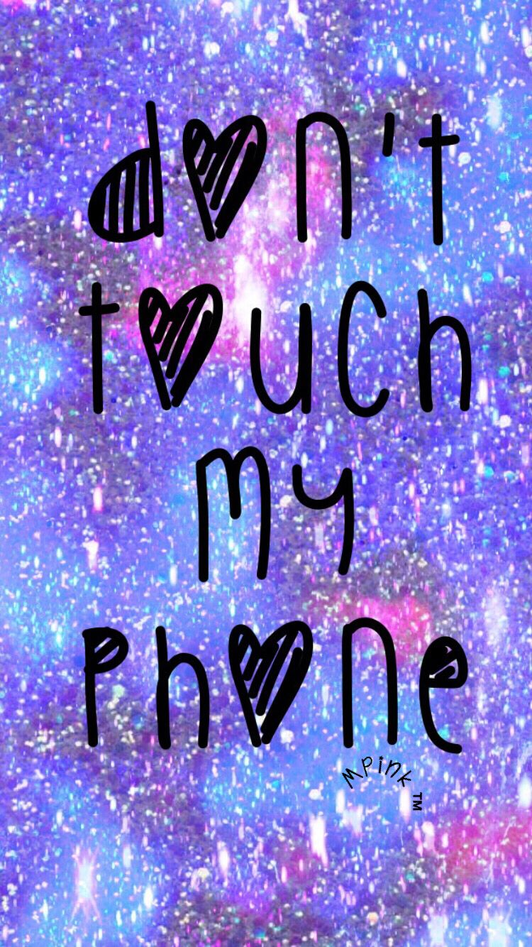 42108663 Pin By Joyce Roberts On Valentines And Wall - Galaxy Wallpaper Dont Touch My Phone , HD Wallpaper & Backgrounds