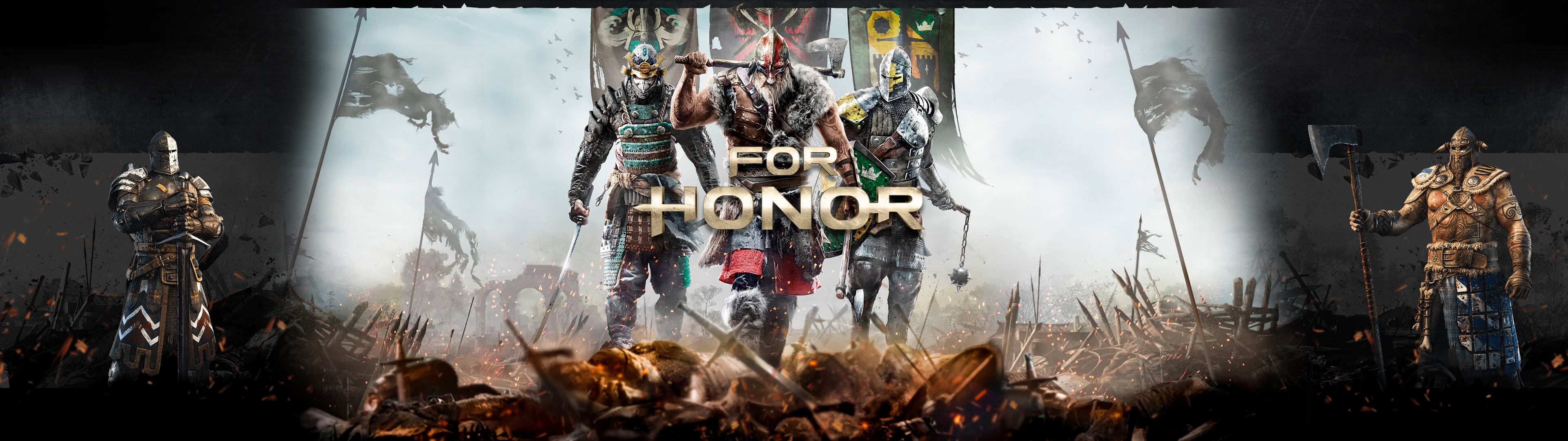 For Honor Double Screen Wallpaper Hd Hd Wallpaper Ps4 Game