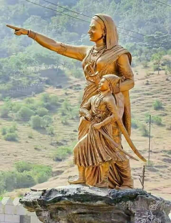 Amhi Gadya Dongarache Rahanar Shivaji Maharaj Hd Wallpaper, - Jijau And Shivaji Maharaj , HD Wallpaper & Backgrounds