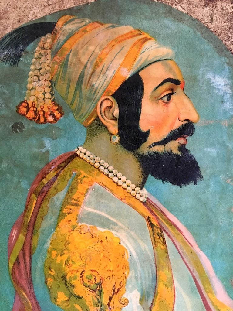 Chatrapati Shiva Ji Shivaji Maharaj Painting, Indian - Shivaji Maharaj Quotes English , HD Wallpaper & Backgrounds
