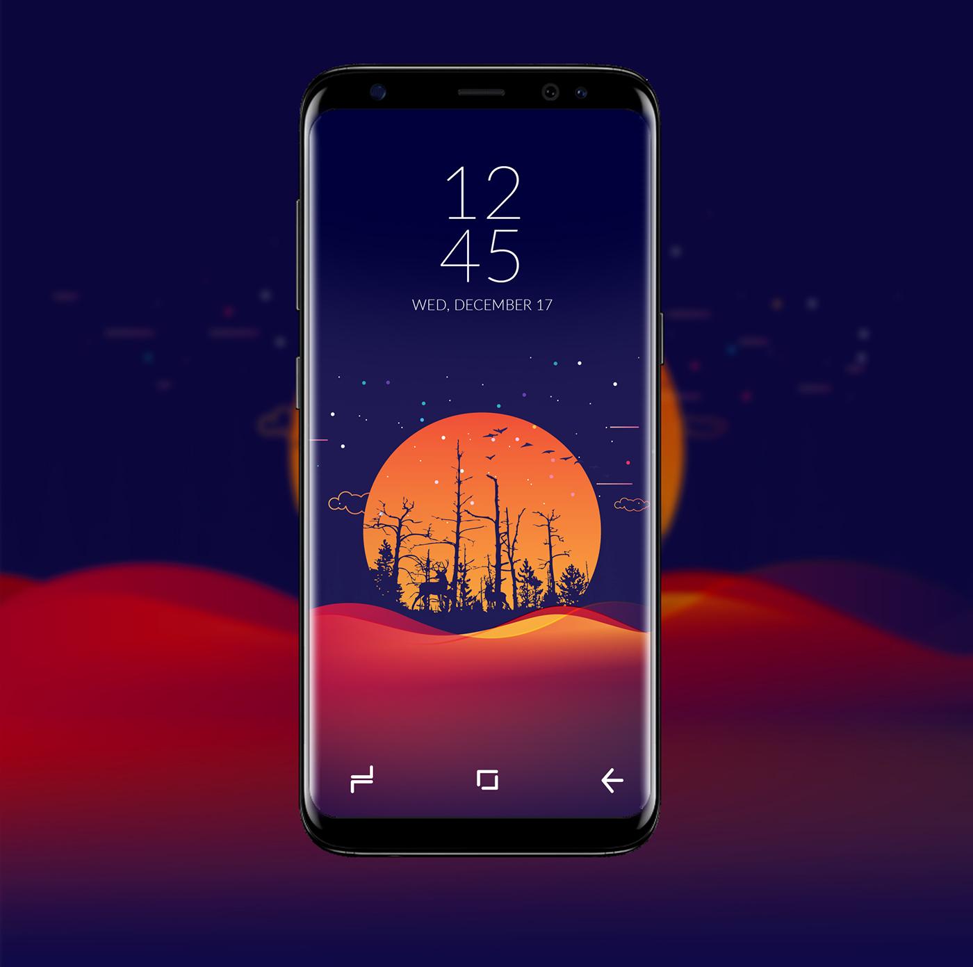 Samsung Galaxy S8 Wallpaper Samsung Galaxy S8 Theme 16210 Hd Wallpaper Backgrounds Download