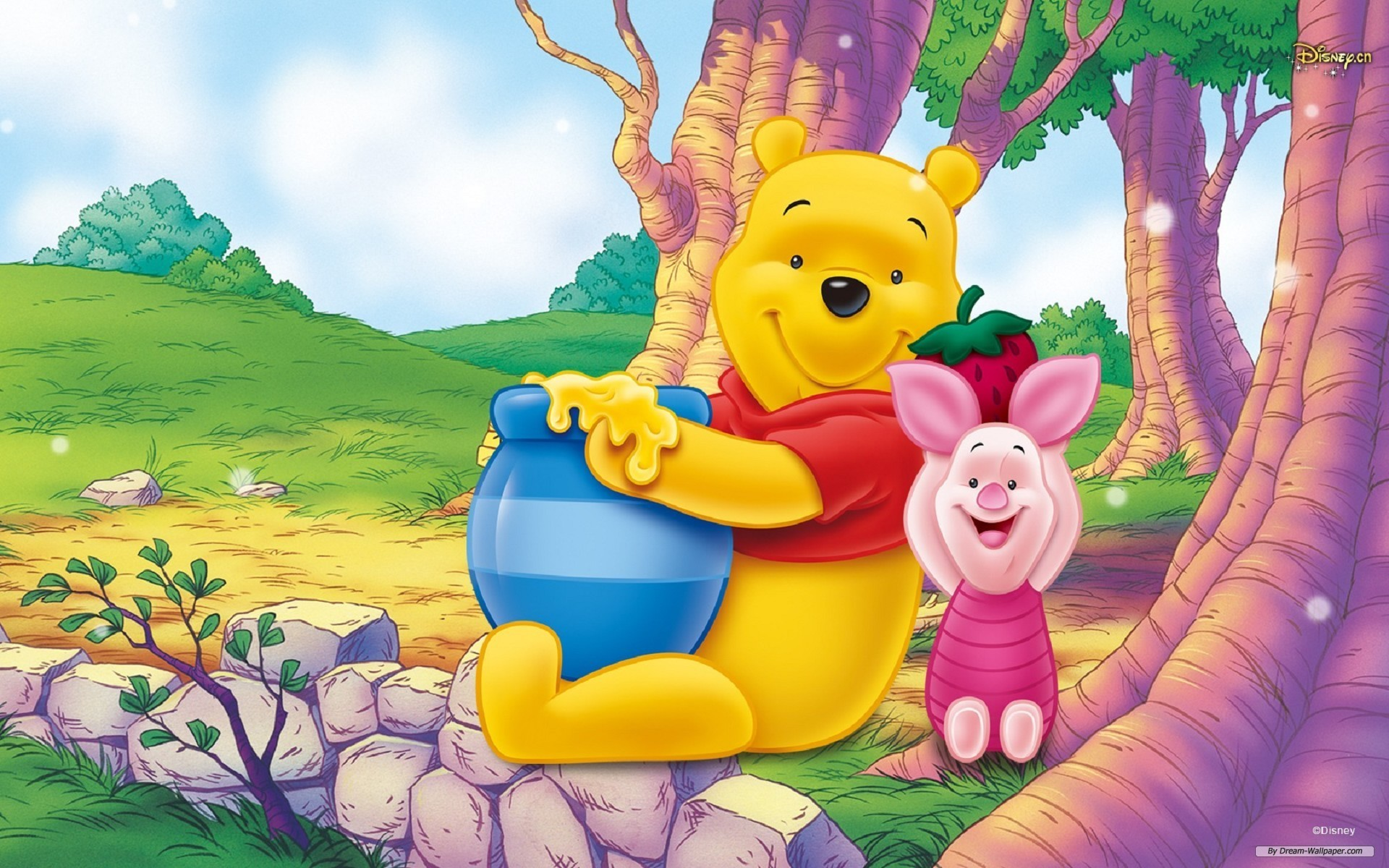 Gambar Winnie The Pooh HD Wallpaper & Backgrounds