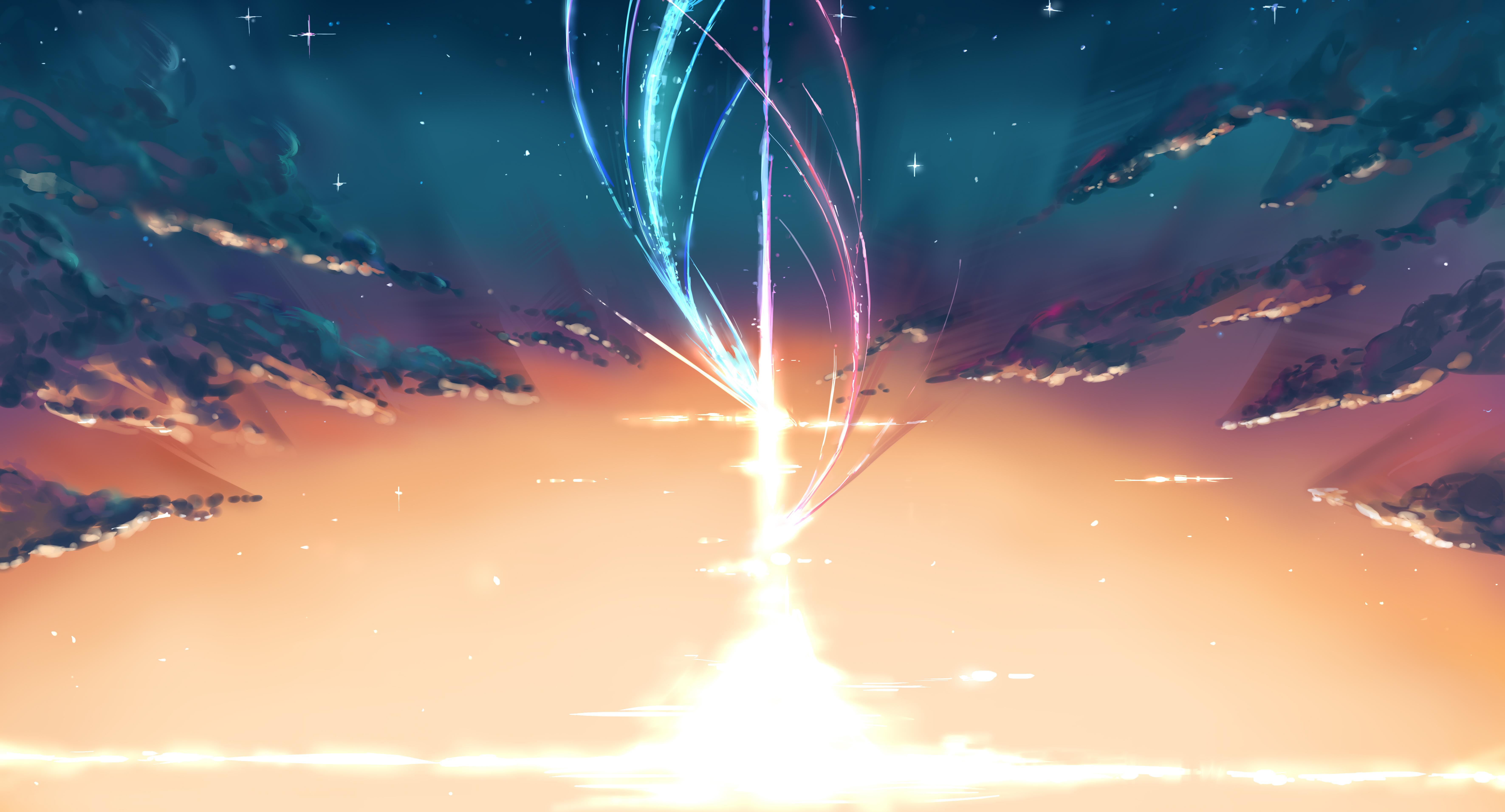 Kimi No Na Wa - Kimi No Na Wa Animated , HD Wallpaper & Backgrounds