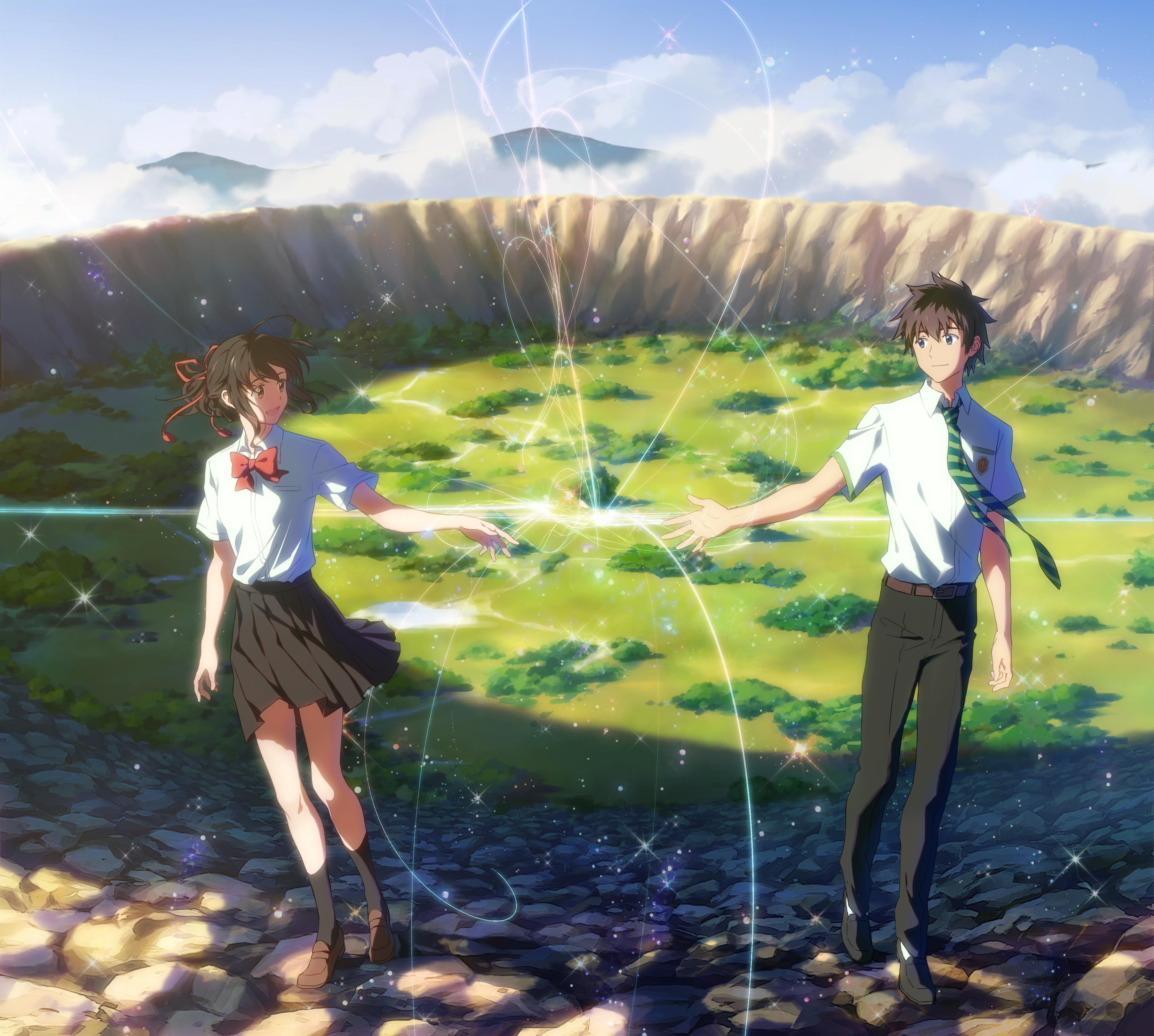 Kimi No Na Wa Anime Miyamizu Mitsuha Your Name Your