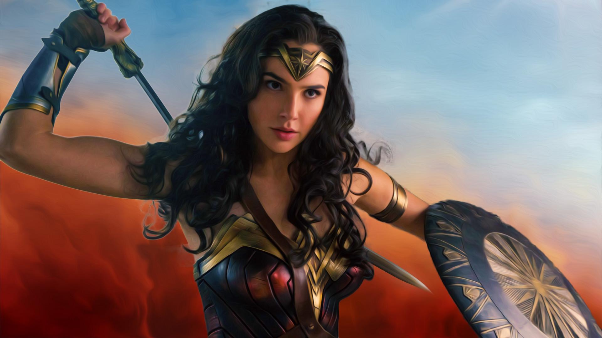 Fan Madewonder Woman Wallpaper Wonder Woman 17020 Hd