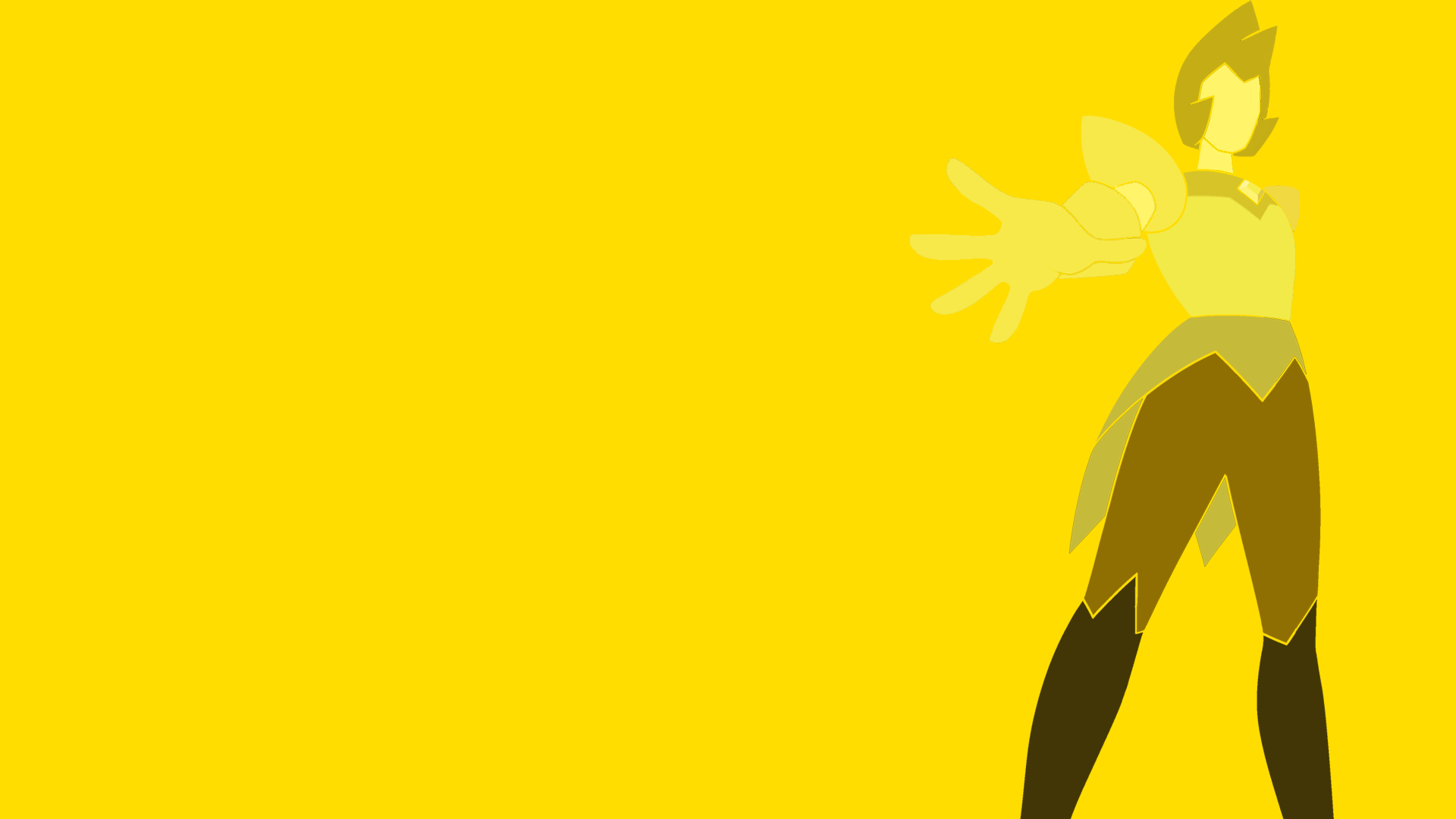 1 17120 minimalist wallpaper of yellow diamond steven universe wallpaper