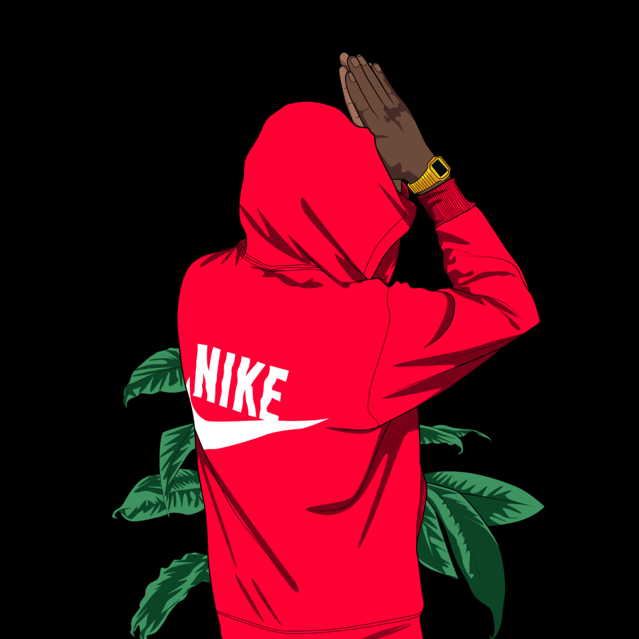 Trill Wallpaper , Nike Cartoon (17221) , HD Wallpaper