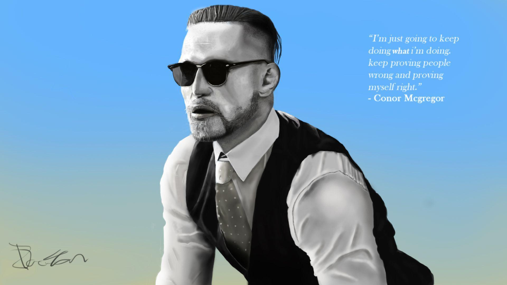 Download Wallpaper Conor Mcgregor I M Just Going To Keep