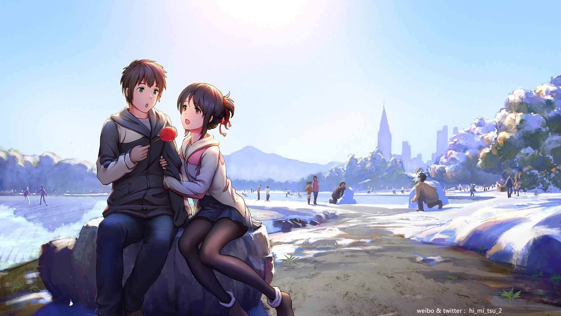 Kimi No Na Wa Wallpaper Hd , HD Wallpaper & Backgrounds