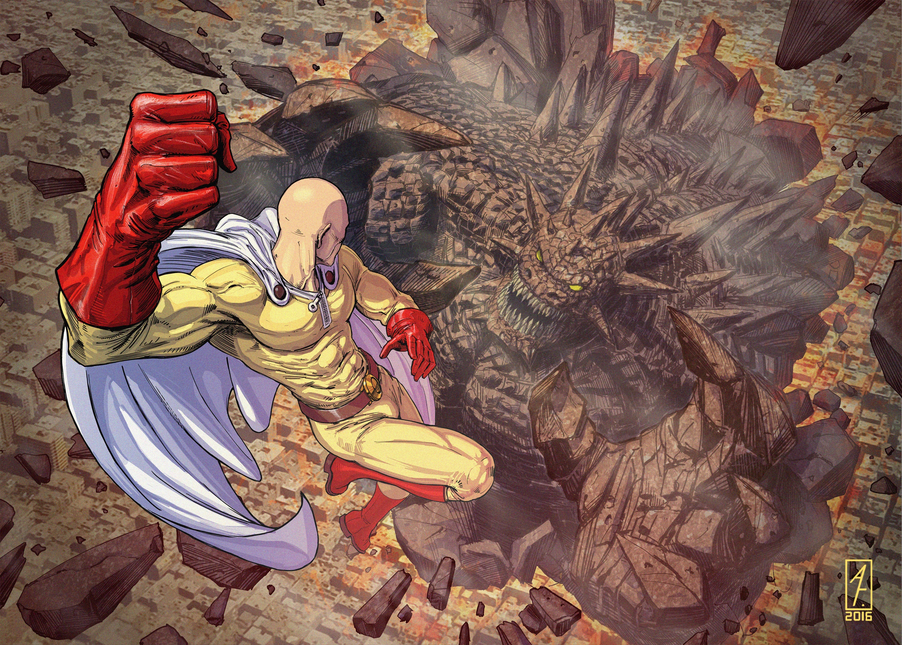 Saitama One Punch Man 4k One Punch Man 4k 17640 Hd