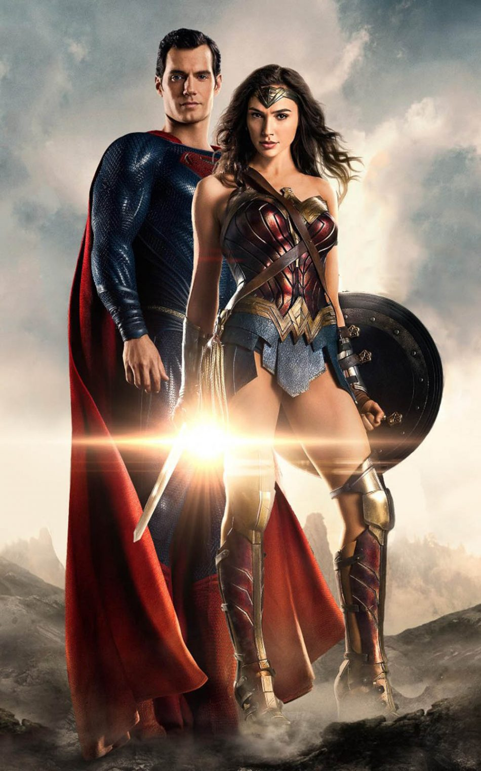 Superman And Wonder Woman In Justice League Hd Mobile Wonder