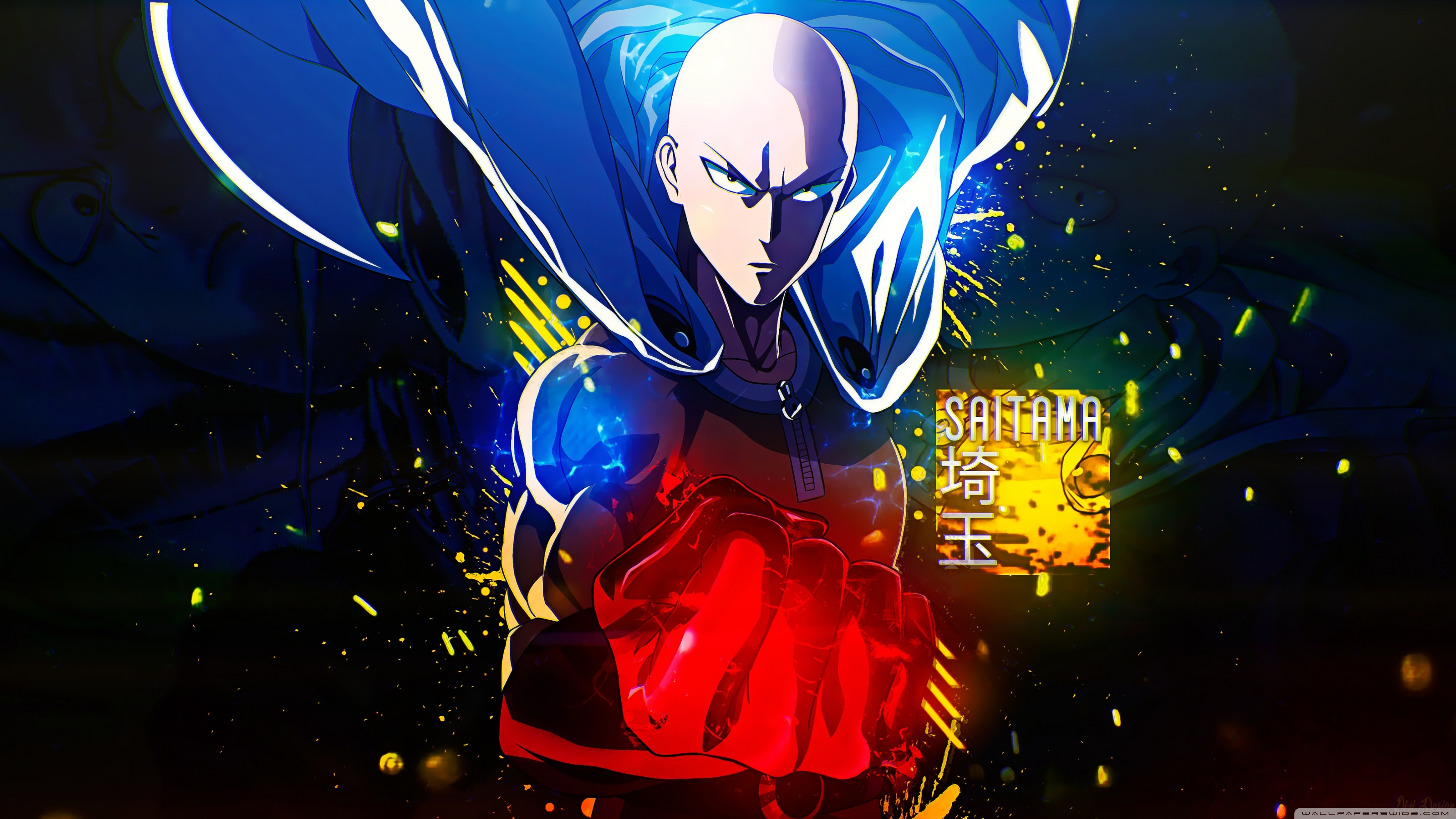 Uhd One Punch Man Cool 17704 Hd Wallpaper Backgrounds