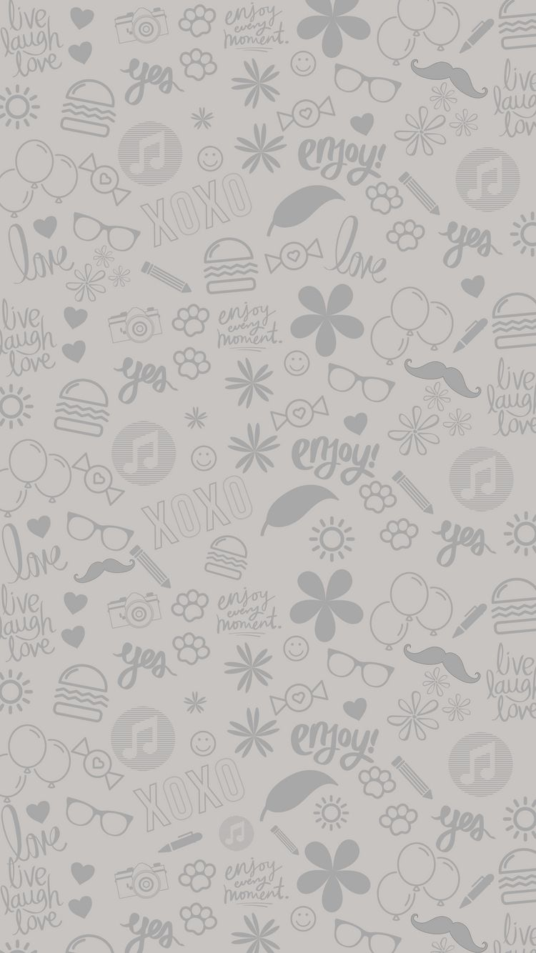 Chat Wallpaper Warm Grey Hd Iphone - Whatsapp Wallpaper Hd Chat , HD Wallpaper & Backgrounds