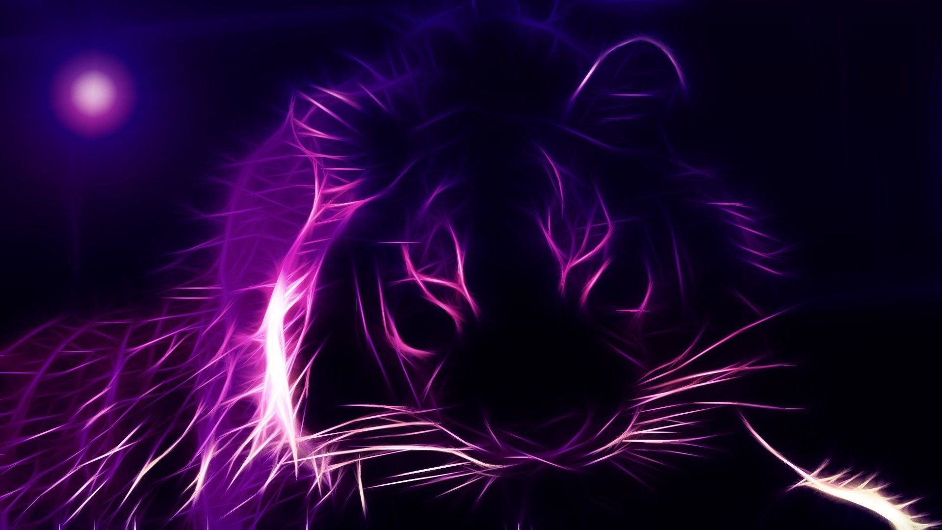 3d Parallax Wallpaper - Hd Wall Paper Purple , HD Wallpaper & Backgrounds