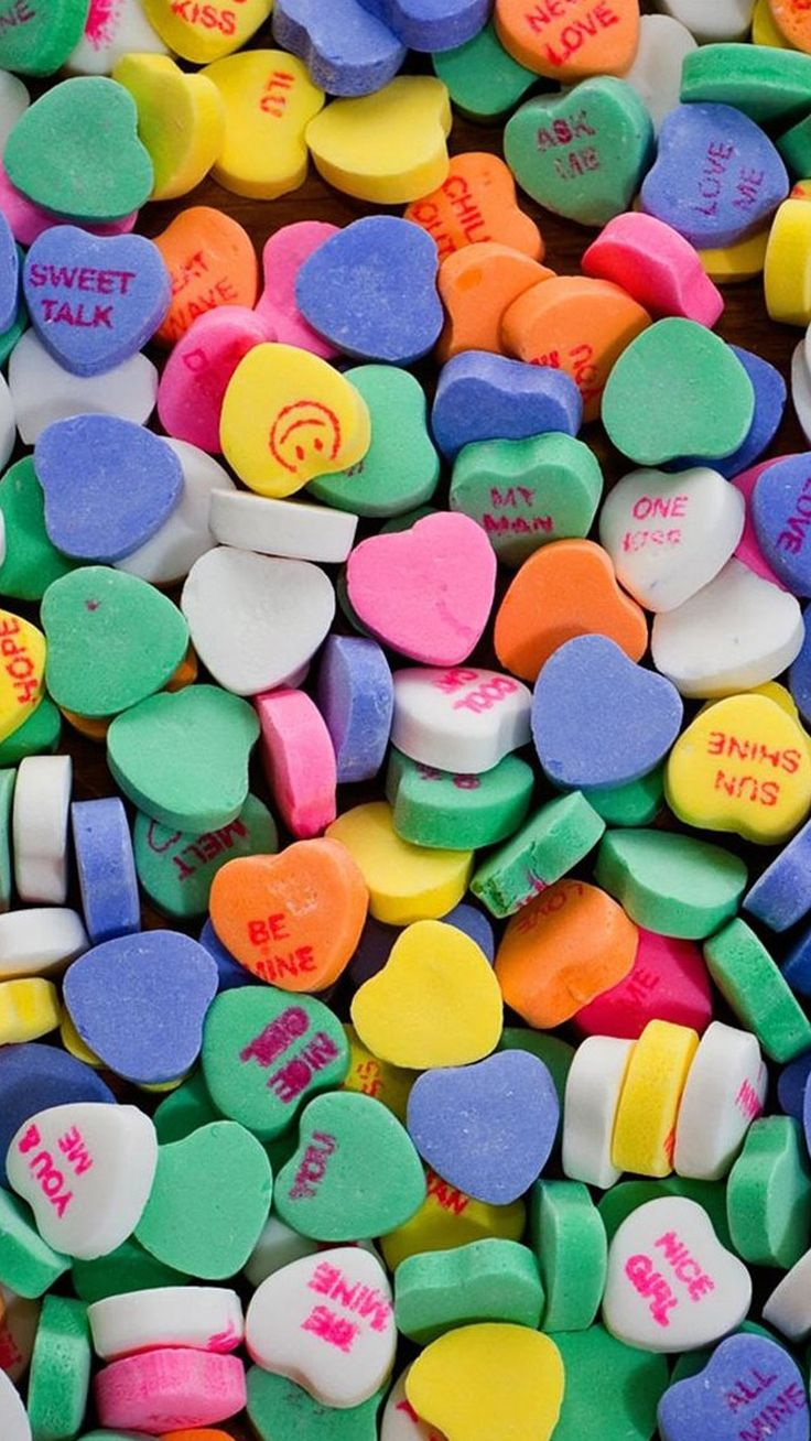 Whatsapp Wallpaper App Download - Clip Art Candy Hearts , HD Wallpaper & Backgrounds